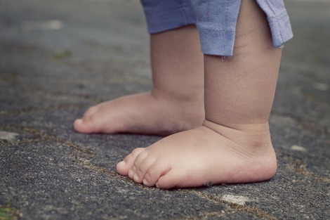 childs feet